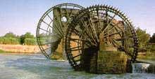 Homs Ancient Norias (waterwheels) [HOMS Online]
